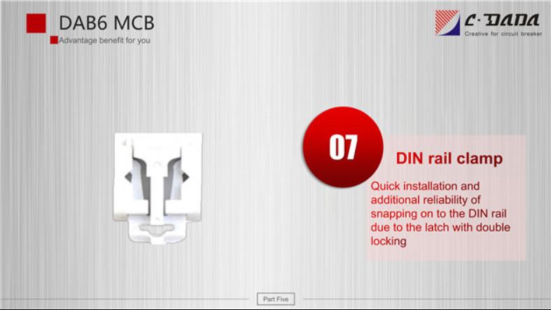 DAB6 series Miniature Circuit breaker(MCB)2332