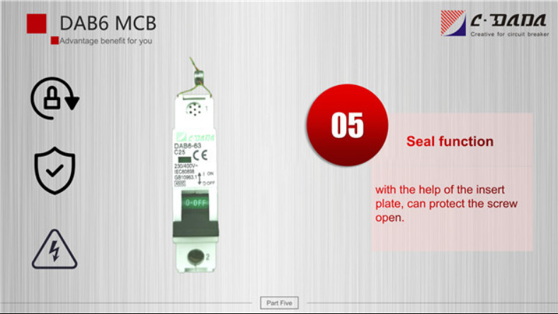 DAB6 series Miniature Circuit breaker(MCB)2328