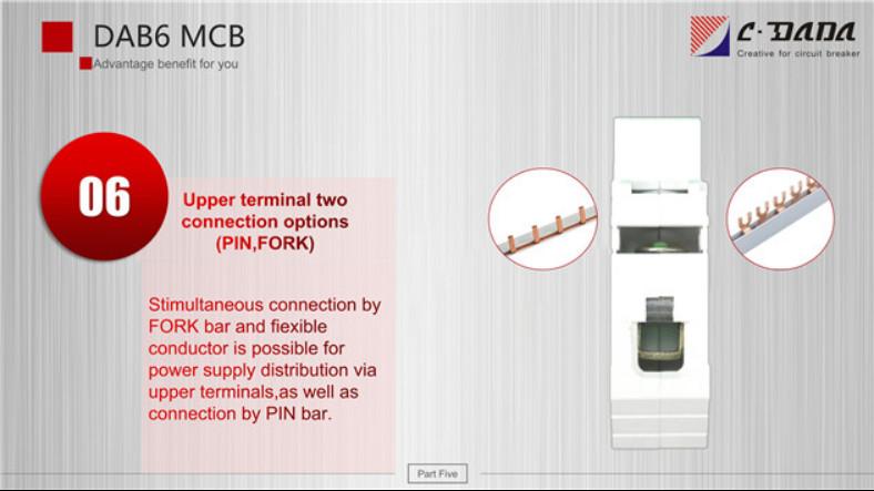 DAB6 series Miniature Circuit breaker(MCB)2330