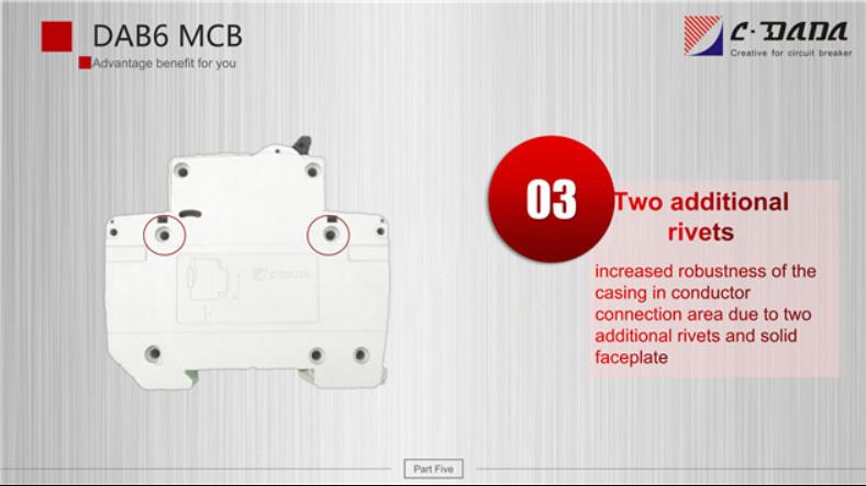DAB6 series Miniature Circuit breaker(MCB)2324