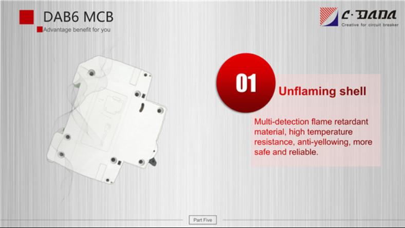DAB6 series Miniature Circuit breaker(MCB)2320